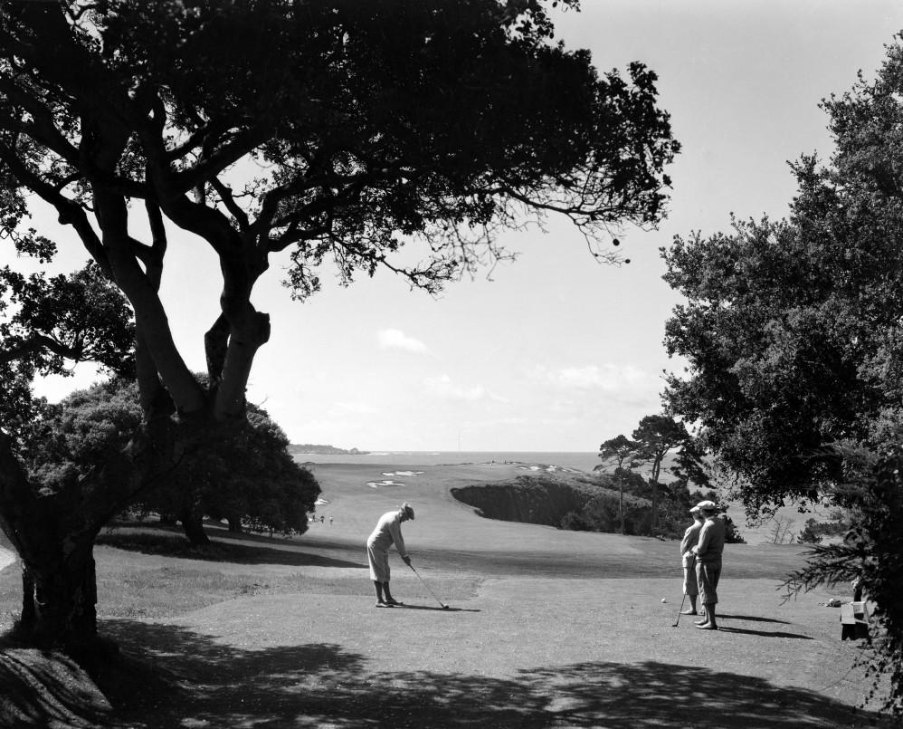 men in golf