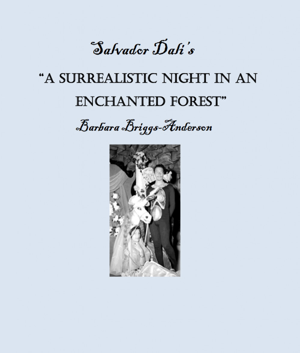 "eBook ""Salvador Dali's 'A Surrealistic Night in an Enchanted Forest"" September 2, 1941"